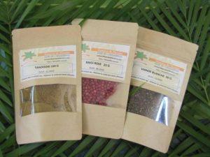 Les mélanges d'épices du Domaine de Florette